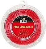 Kirschbaum Pro Line 2-Seil, Tennis, Rot Rot Rot 1,30 mm x 200 m