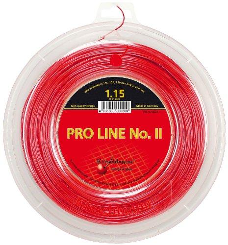 Kirschbaum Pro Line 2 Bobine Cordage de Tennis Rouge