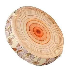 Coussin coussin de chaise en forme de tronc d'arbre