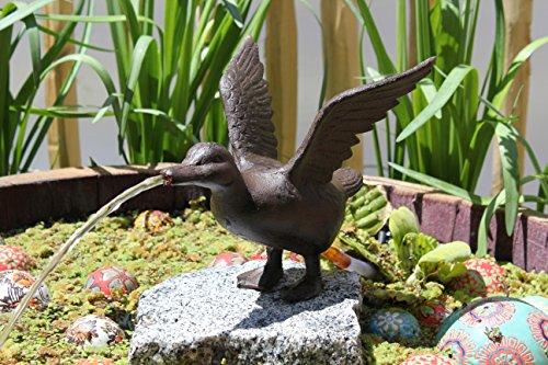Wasserspeier Ente mit Pumpe