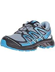 Salomon Wings Flyte 2 GTX - Chaussures de running - gris/bleu 2016