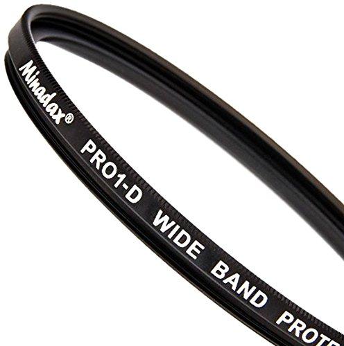 Minadax Protector Filter 58mm PRO-1D Slimline, Schutzfilter - mehrfachvergütet 1d Protector