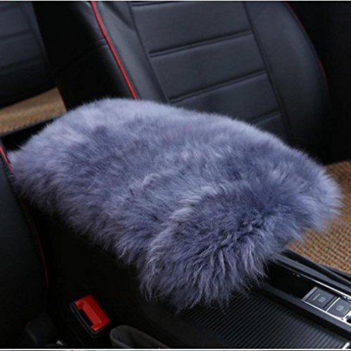 Preisvergleich Produktbild Jaminy Auto Warm Armlehne Konsole Winter Pad Kissen Stützbox Rest Sitzpolsterung 30cm × 15cm (G)