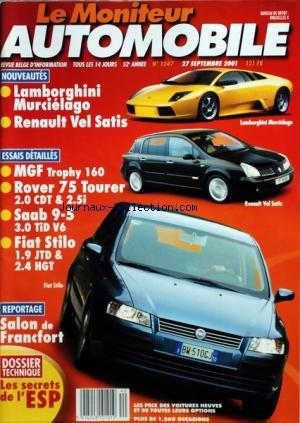 moniteur-automobile-le-no-1247-du-27-09-2001-essais-lamborghini-murcielago-renault-vel-satis-mgf-tro