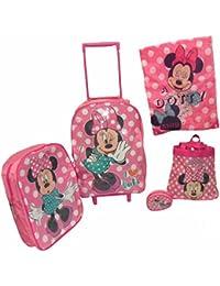 Disney Minnie Mouse 5 Piece Bagages Régler