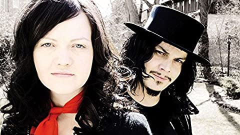 The White Stripes (25x14 inch, 62x35 cm) Silk Poster Affiche en Soie PJ19-77B8