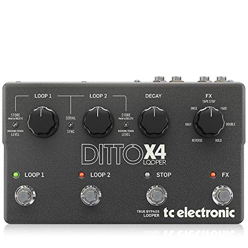 TC Electronic Ditto x4Looper · Pedale Chitarra Elettrica