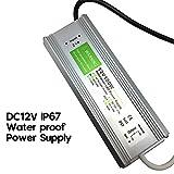 Waterproof IP67 LED Driver Power Supply Transformer 240V DC 12V 8.33A 100W for LED Strip UK