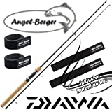 Daiwa Ninja X Spin Spinnrute mit Angel Berger Rutenband (2,10m / 10-30g)