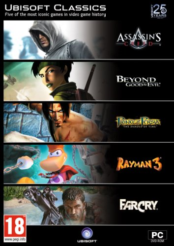 Ubisoft Classics (5 game pack, incl Assassin's Creed) /PC