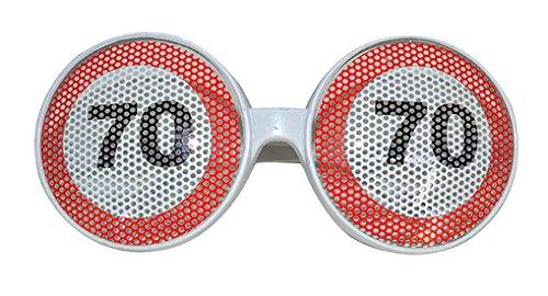 Confettery-Disfraz Gafas-70. Fiesta cumpleaños