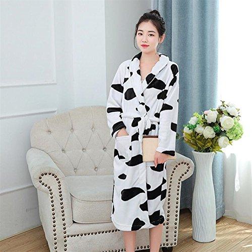 Huyizhi Artículos baño Patrón Vaca Las Mujeres