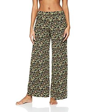 Iris & Lilly Floral Print Trouser - Pantalones de pijama Mujer