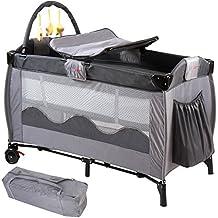 Infantastic Kinderreisebett Babyreisebett mit Babyeinlage, inkl. Matratze + Zubehör