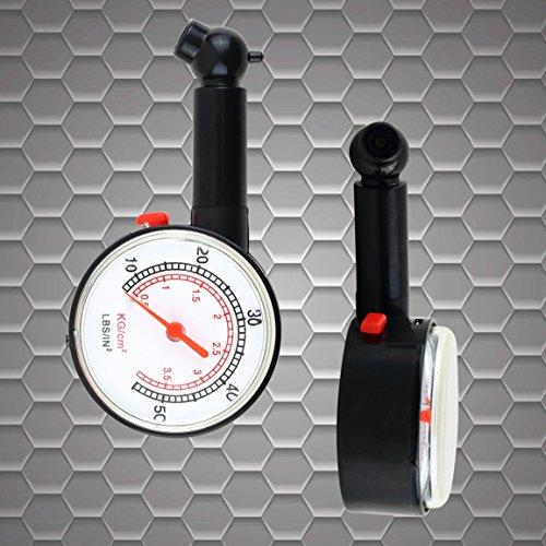 Fantasyworld-Misura-del-misuratore-di-pressione-del-misuratore-della-pressione-del-manometro-del-quadrante-del-manometro-della-bicicletta-del-veicolo-dellautomobile