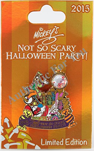 Disney Parks 2015 mnsshp Mickey 's Halloween Party Goofy Trading Pin Limited Edition LE 5550