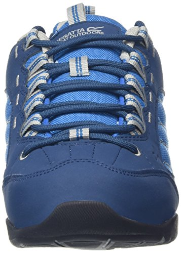 Regatta Eastmoor, Chaussures de Randonnée Basses Femme, 36.5 EU Bleu (Bluwing/Ltst 02R)