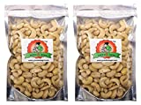 #4: Grandma Agro Cashew Nuts (Kaju), 500 Grams (250g + 250g) (Pack of 2)