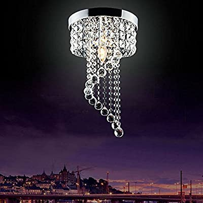 Modern LED Bulb Ceiling Light Pendant Fixture Lighting Crystal Chandelier produced by Jorunhe - uk fast delivery