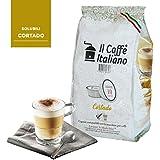 80 cápsulas de café compatibles A modo mio - Cortado - 80 Cápsulas compatible con maquinas A modo mio - Il Caffè italiano