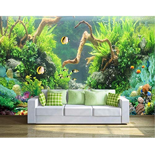 3D Wallpaper Custom Photo Fresh Marine Riff Fisch Landschaft Dekoration Malerei Raum Tapete Für Wände 3D Wandbilder-280(H)*400(W) Cm -