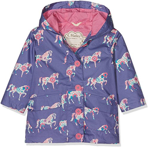 Hatley Girl's Cotton Coated Raincoat