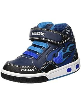 Geox Jr Gregg C, Zapatillas Altas para Niños