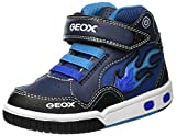 Geox Boy's Jr Gregg C Hi-Top Trainers