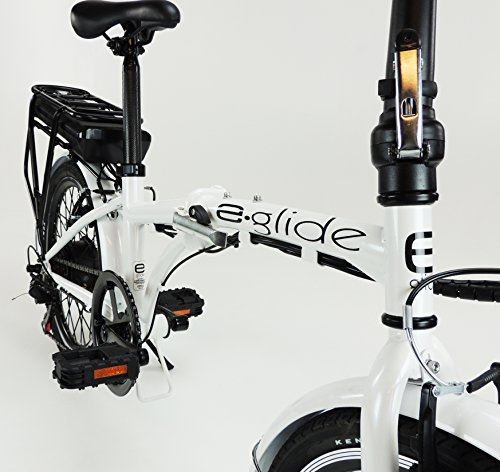 e.glide E bike ELECTRIC BICYCLE 20″ Folding Bike