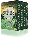 The Surprise Brides Box Set -- Jamie, Caleb, Gideon and Ethan: Western Historical Romance (English Edition)