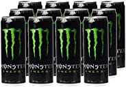 Monster Energy Green Original Energy Drink, 12 x 355 ml