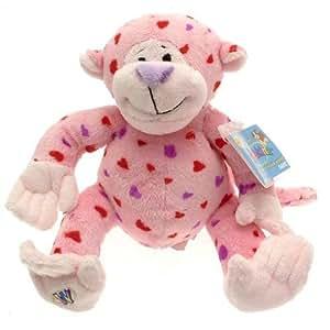 Webkinz Love Monkey Plush Toy with Sealed Adoption Code