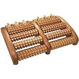 Croll & Denecke - Masajeador de rodillos para los pies (2 secciones, con 5 rodillos cada una)