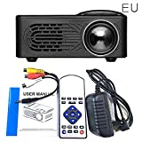 Starter Projecteur de LED, 1080p Full HD Mini Projecteur Multimédia Home Cinéma LCD...