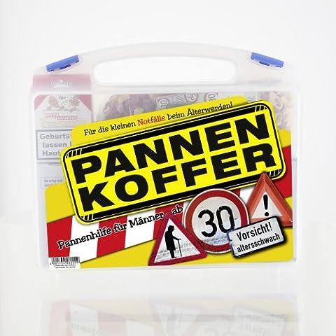 Lustige Apotheke Pannenkoffer für den Mann ab 30 (8 teilig)