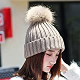 Damen Mädchen geschoben Kabel Knit Hat Damen Winter - Best Reviews Guide