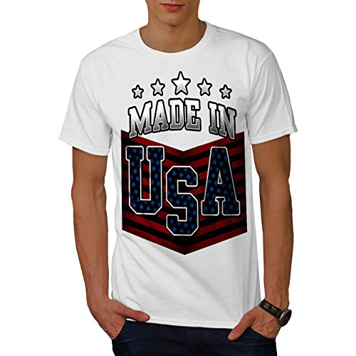 Usa-t-shirt Gemacht Im (wellcoda Gemacht IM USA Männer L T-Shirt)