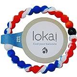 S1/Armband Lokai: Blau, Weiß, Größe M, rot/18cm