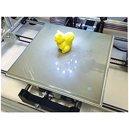 Vitre en verre 200x 200x 3mm aowallao for aowallao K8200Imprimante 3D & accessoires R, vitre en verre, 200x 200x 3mm, fà ¼ r K8200, convient pour: Velleman K8200, MSL: –