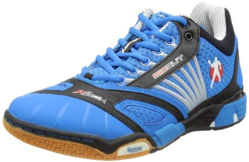 Kempa Typhoon Chaussures de handball Kempa Bleu/Noir/Rouge