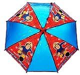 Feuerwehrmann Sam - Regenschirm Stockschirm Sam