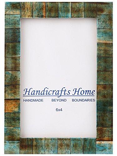 4x 6Grünspan Bone Bilderrahmen Chic Foto Rahmen handgefertigt Vintage, von Kunsthandwerk Home - Bild Magnetische Frame-8x10