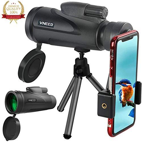 12X50 Dual Focus Monocular Teleskop, Zoom Optische Linse Wasserdichter Shockproof Monocular-Bereich...
