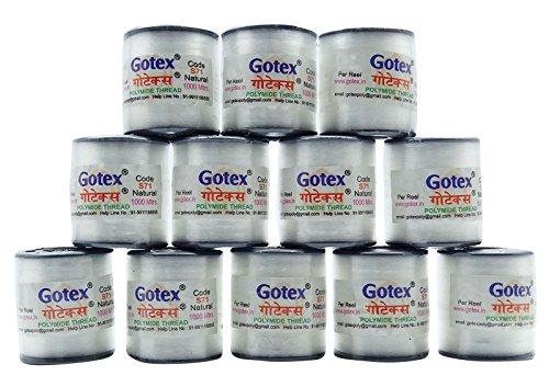 12 Stück Rolle Grau Polyamidfäden Nähmaschine Stitching 1000 Meter Spool (Indien Nähmaschine)