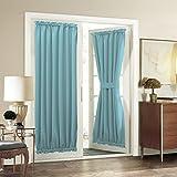Best Home Moda isolante termico tende oscuranti - Aquazolax Blackout porta tenda a pannello, Tessuto, Turchese Review