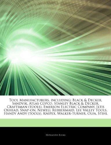 articles-on-tool-manufacturers-including-black-decker-sandvik-atlas-copco-stanley-black-decker-craft