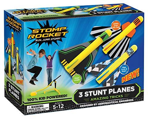 Stomp Rocket 365018 Druckluftrakete-Stunt Planes
