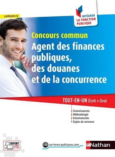 Concours commun Agent des finances publiques, des douanes et de la concurrence