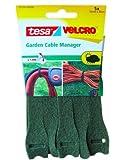 3 x Tesa Velcro Garten Kabel Manager 55250-00000 grün, 5 x 16mm x 40cm
