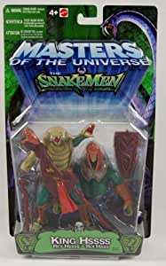 King Hssss (Hiss) - Masters of the Universe Vs Snakement Figure